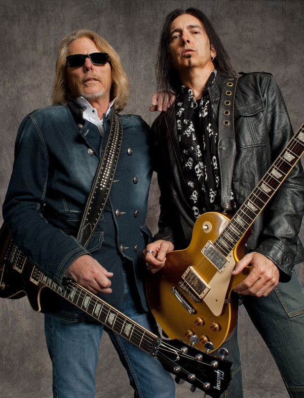 Thin Lizzy: Scott Gorham and Damon Johnson