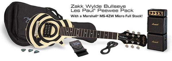 Zakk Wylde Bullseye Les Paul PeeWee Pack