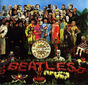 Beatles Sgt. Pepper's Lonely Hearts Club Band