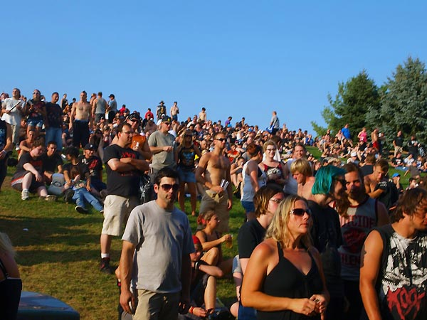 Crowd Shot Rockstar Energy Drink Mayhem Festival