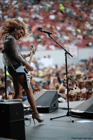 Grace Potter Flying V
