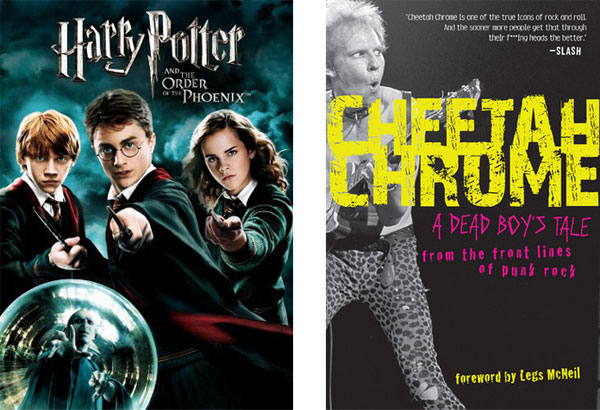 Harry Potter Cheetah Chrome
