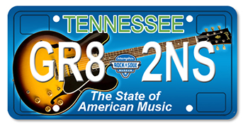 Gibson Foundation: The State of American Music License Plate