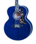 SJ-200 Quilt Vine Viper Blue