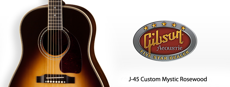 Gibson Acoustic - J-45 Custom Mystic Rosewood