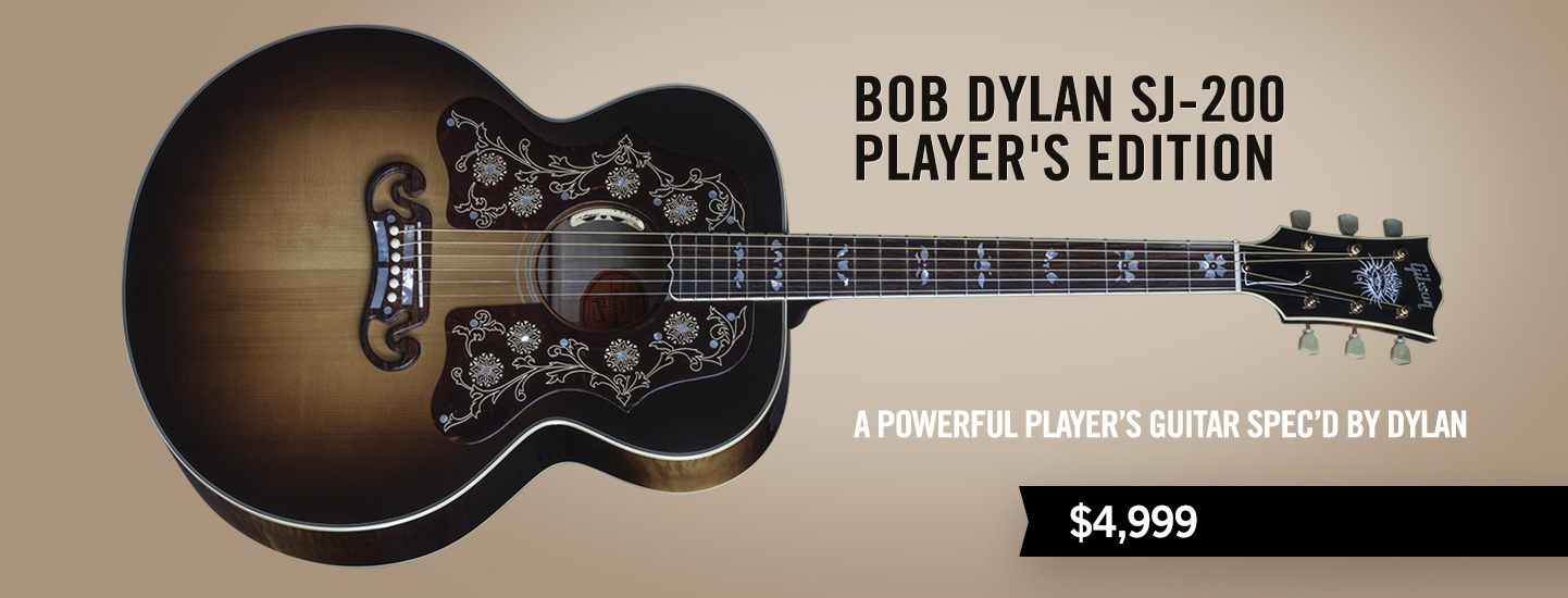 Bob Dylan SJ-200 Player's Edition
