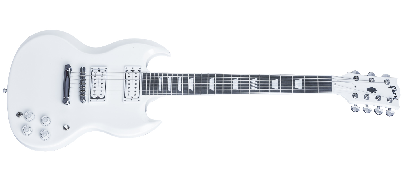 7 string sg new from gibson comes stock with 59 and jb looks kinda boss the white one reminds me of the buckethead lp asfbconference2016 Gallery
