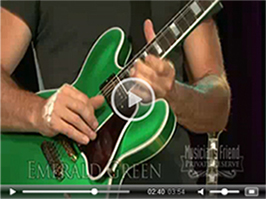 Gibson Memphis: BB King Lucille Limited - Emerald