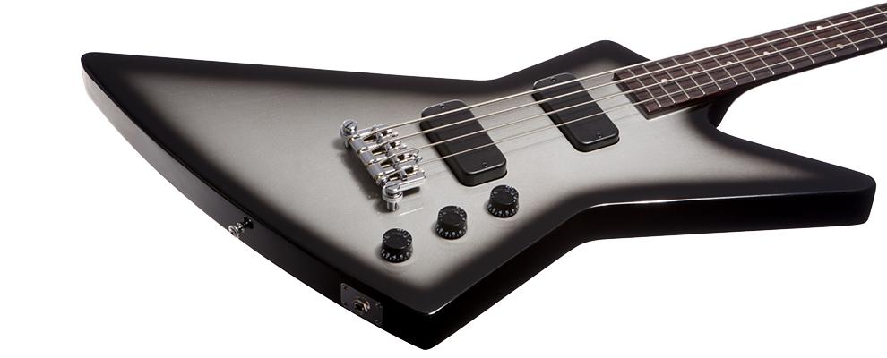 Gibson Explorer Bass Silverburst