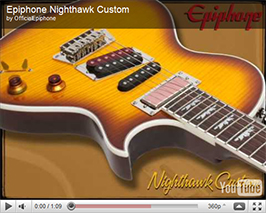 Epiphone: Nighthawk Custom Reissue