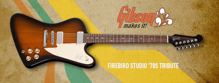 Gibson USA - Firebird Studio &#39;70s Tribute