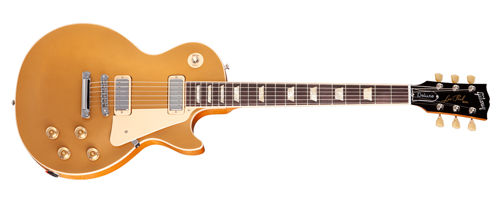 2012 Gibson Usa Les Paul Deluxe Gold Top Excellent