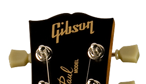 Neck Logo Gibson Les Paul Studio 60s Tribute