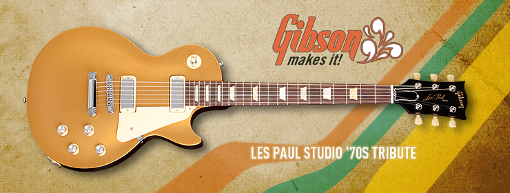 Gibson USA - Les Paul Studio '70s Tribute