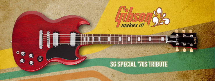 Gibson USA - SG Special '70s Tribute
