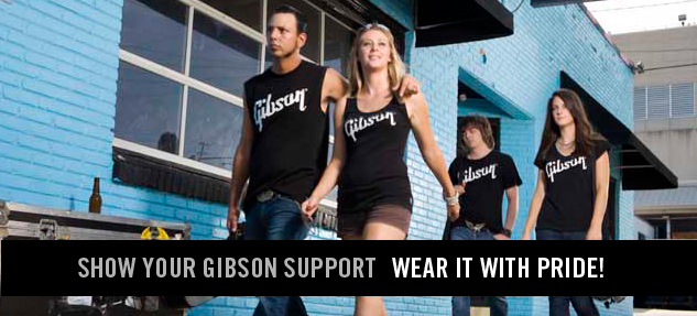Gibson Gear Apparel