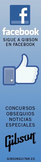 Sigue a Gibson en Facebook