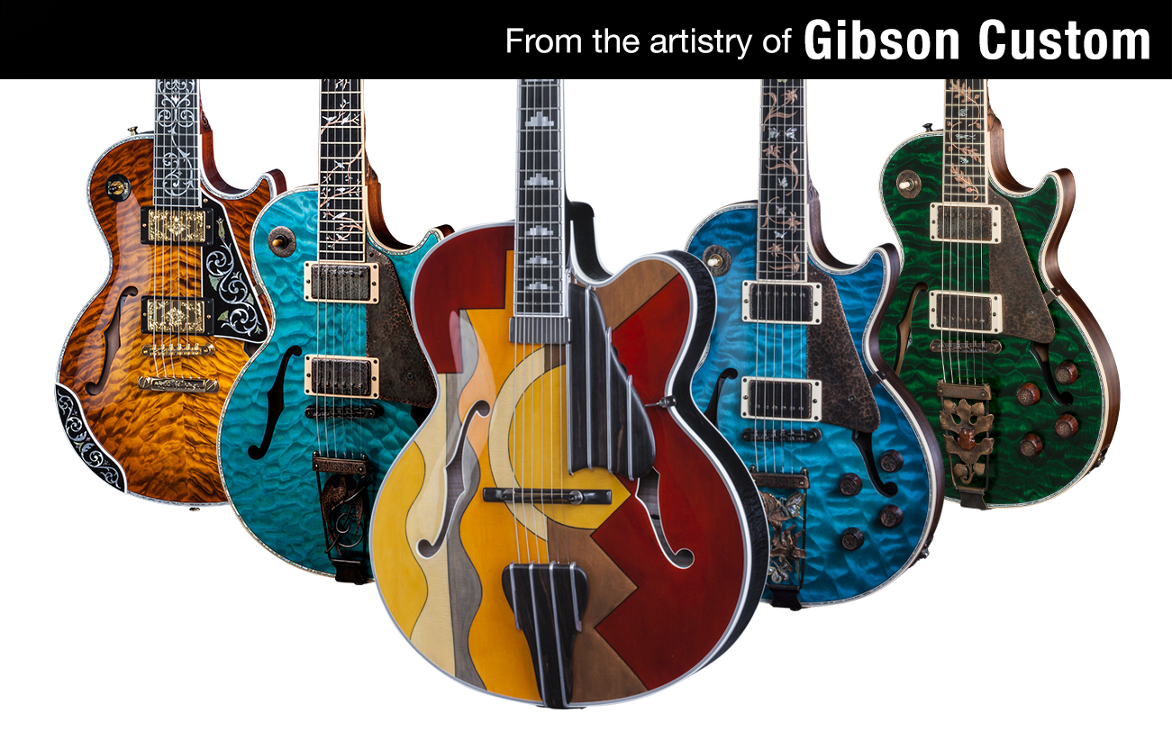 From the artistry of Gibson Custom