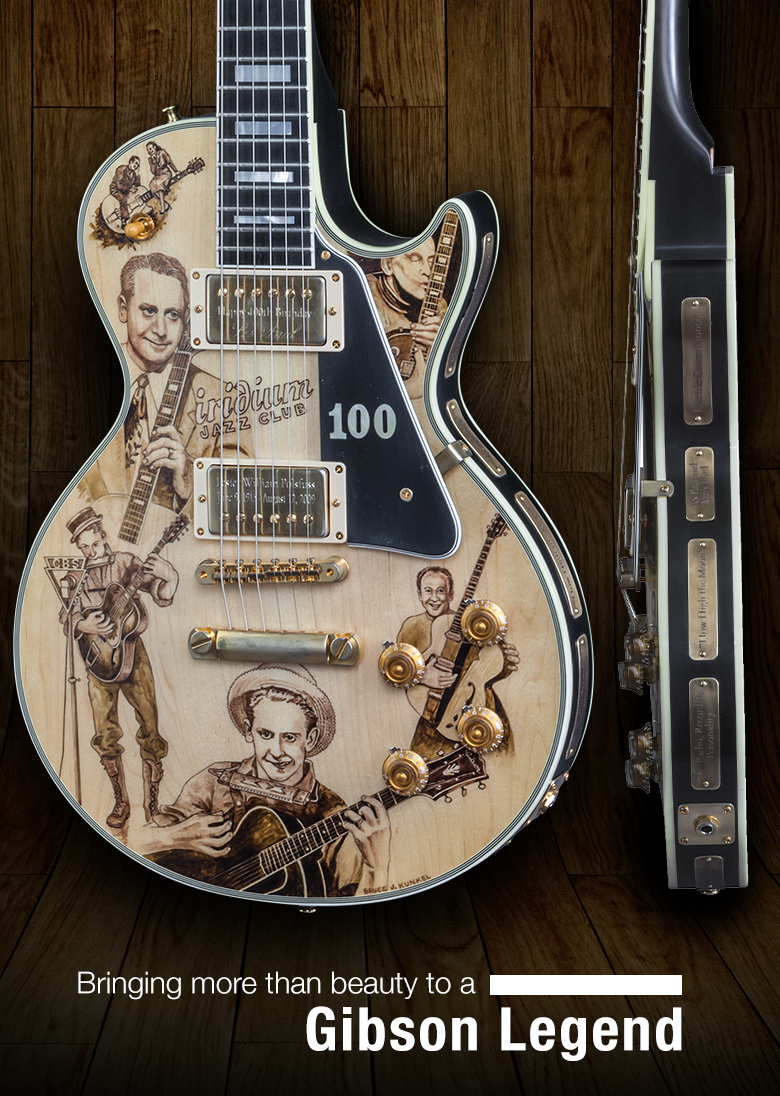 Bringing more than beauty to a Gibson Legend