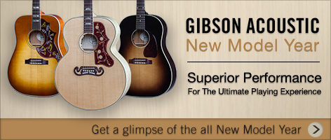 Handcrafted Tone, Feel, and Appearance – Introducing the Gibson Acoustic 2016 Model Year