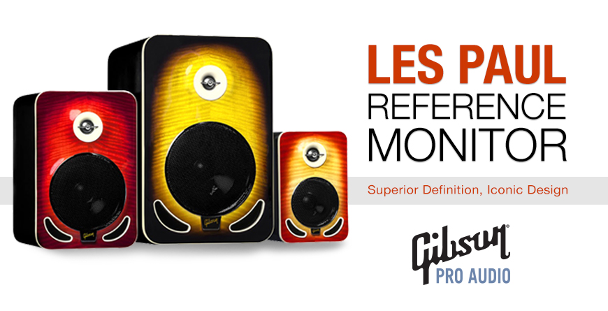 Gibson Pro Audio Les Paul Reference Monitors