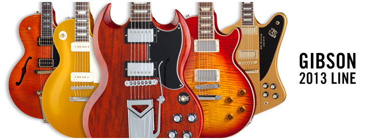 Introducing Gibson's 2013 New Model Year