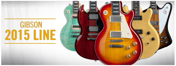 Introducing Gibson's 2015 New Model Year
