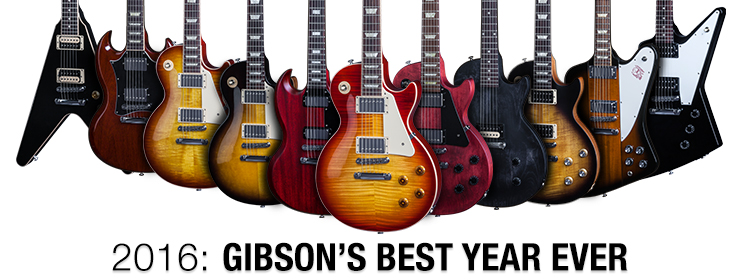 Introducing Gibson's 2016 New Model Year