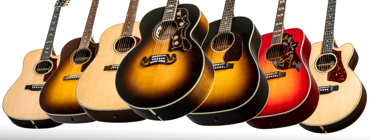 Gibson Acoustic 2018 Model Year